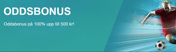 oddsbonus 100%