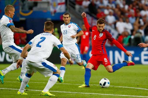 England vs Slovakien