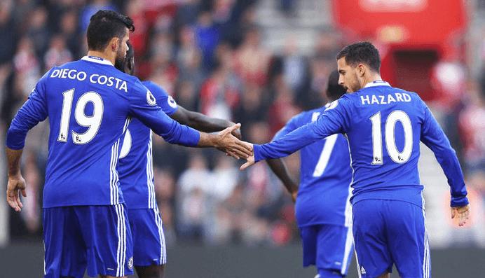 Chelsea Costa Hazard