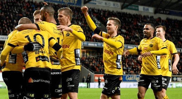 Elfsborg firar ett mål