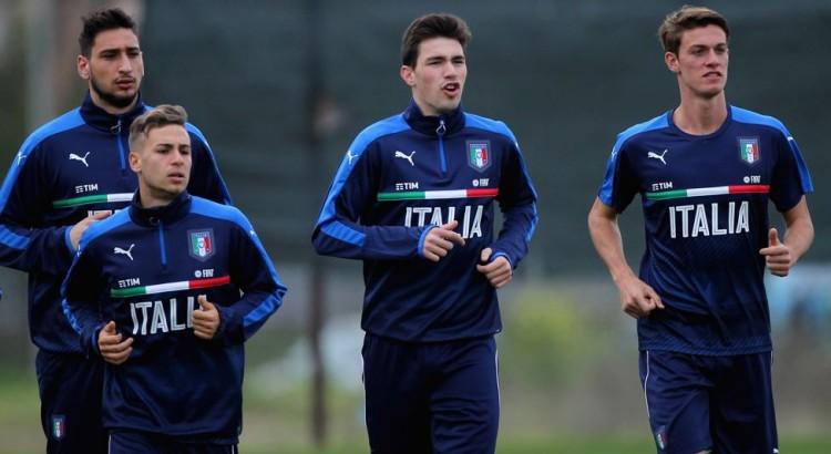 Donnarumma i Italien U21