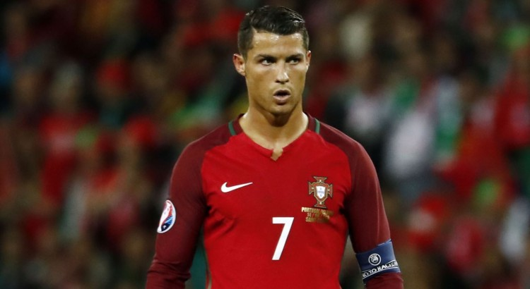 Cristiano Ronaldo i landslagsdressen