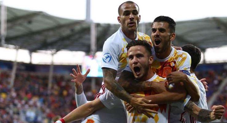 Spanien U21 är klara för semifinal och är favoriter till titeln