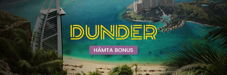 Dunder Recension banner