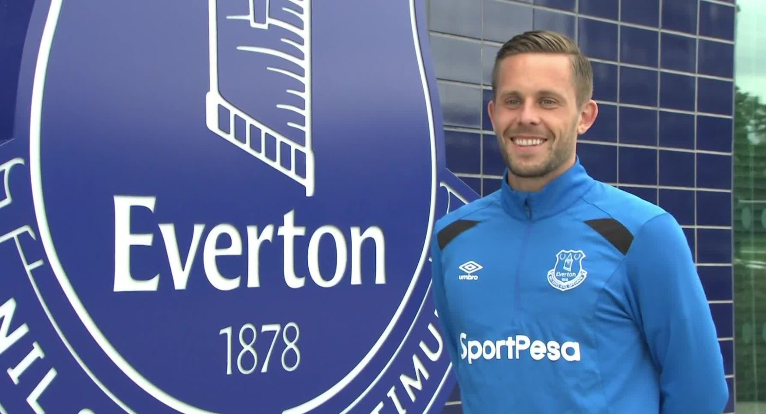 Gylfi Sigurdsson i Everton