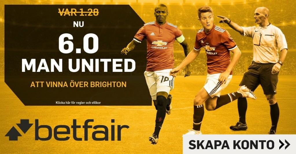 united-brighton bosstade odds betfair