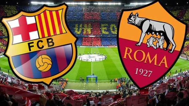 Barcelona Roma Champions League