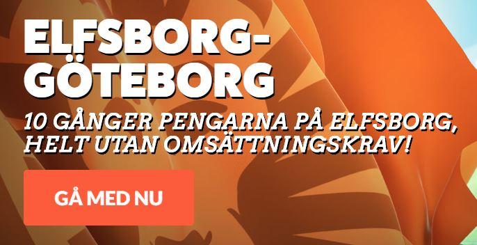 leovegas boostade odds elfsborg ifk göteborg