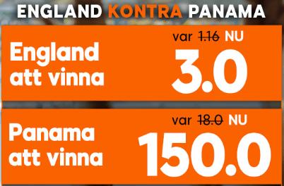 England Panama boost 888sport