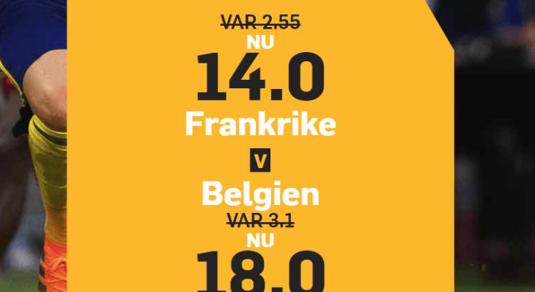 Frankrike Belgien boost Betfair