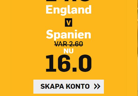 England Spanien boost Betfair