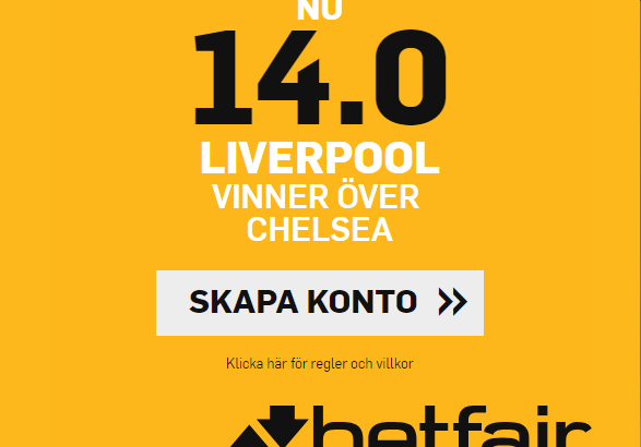 Liverpool boost betfair