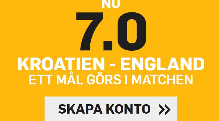 england kroatien 7.0 oddsboost