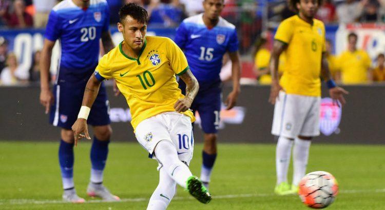 Brasilien Paraguay Copa America kvartsfinal