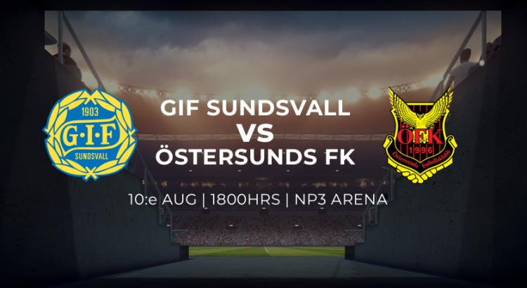 Sundsvall mot Östersunds FK