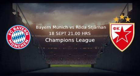 Bayern Munchen Roda stjarnan CL