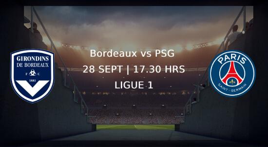 PSG - bordeaux Ligue 1