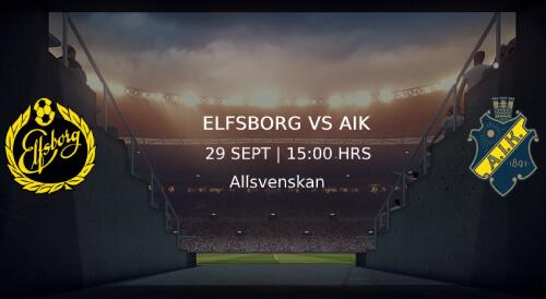 Elfsborg AIK allsvenskan