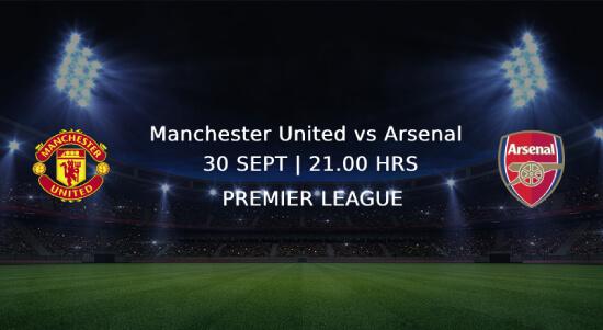 Man utd vs arsenal Premier League