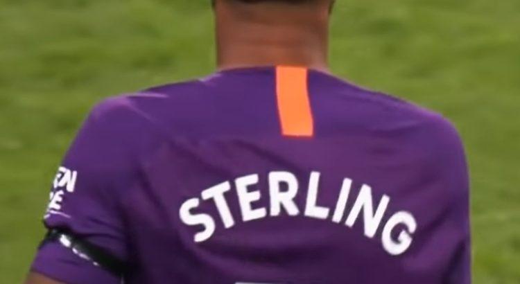 Raheem Sterlings rygg