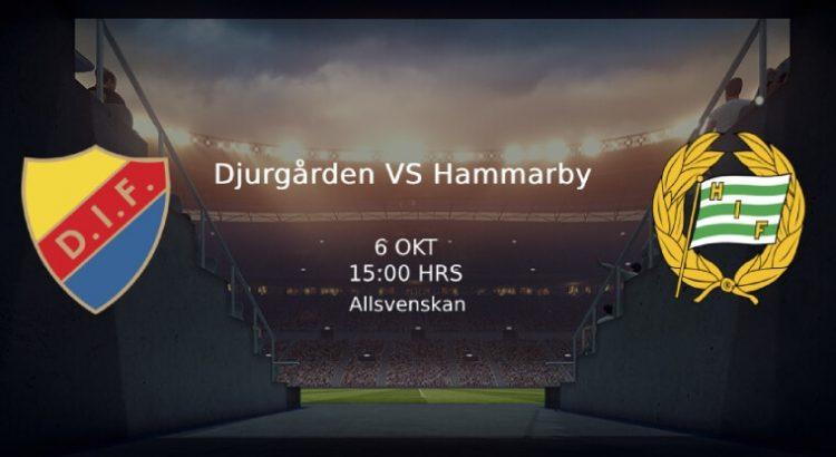 Djurgården Hammarby Allsvenskan