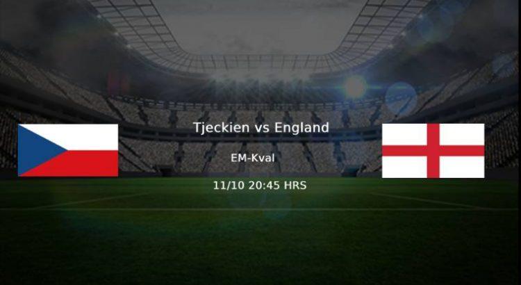 Tjeckien - England EM-kval