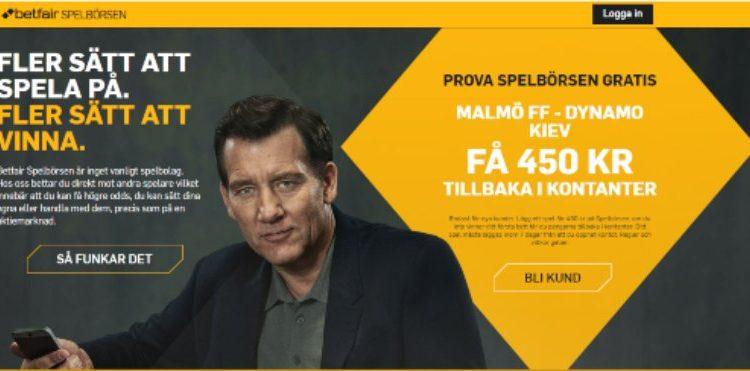 Europa League Malmö - Dynamo Kiev