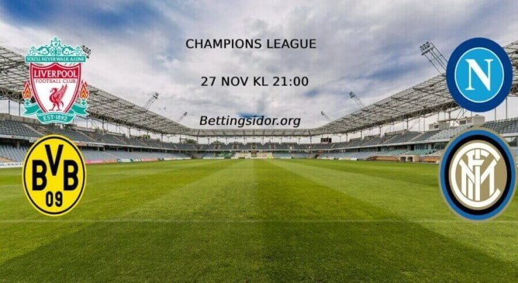 champions league 27 nov