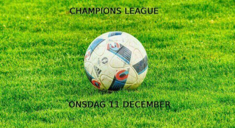 champions league onsdag 11 dec