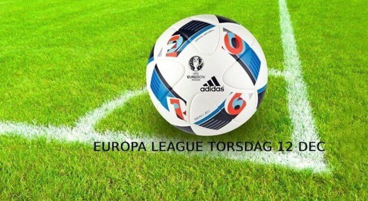 Europa league torsdag