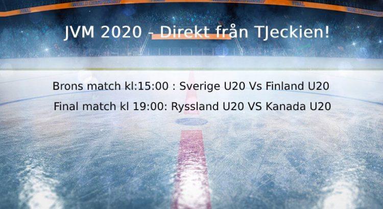 JVM 2020 final och brons match