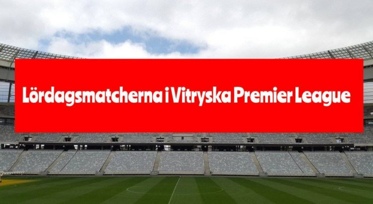 Lördagsmatcherna i vitryska Premier League
