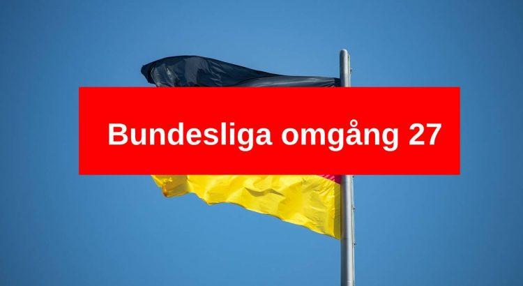 Bundesliga tyska flaggan